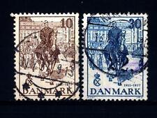 DENMARK - DANIMARCA - 1937 - 25° anniversario del regno di Re Cristiano X