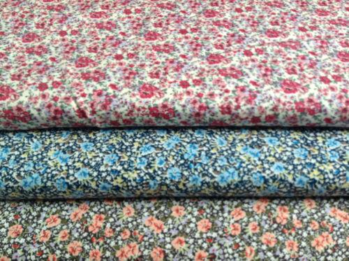 63930 Tissu patchwork nutex-Mélange Floral