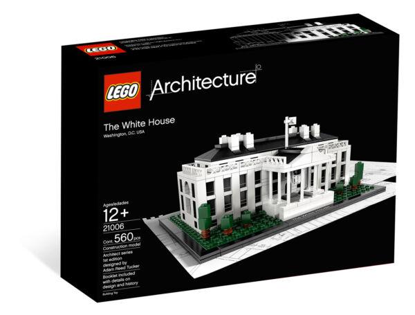 Lego Architecture White House 21006 Ebay