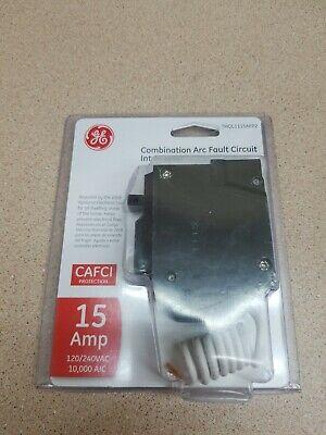 GE Combination 15 Amp Arc Fault Circuit Interrupter//Breaker THQL1115AFP2