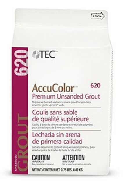 Tec AccuColor Premium Unsanded Grout 9 75 lb (Various Colors) - FREE  SHIPPING