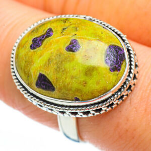 Atlantisite 925 Sterling Silver Ring Size 9 Ana Co Jewelry R45115F