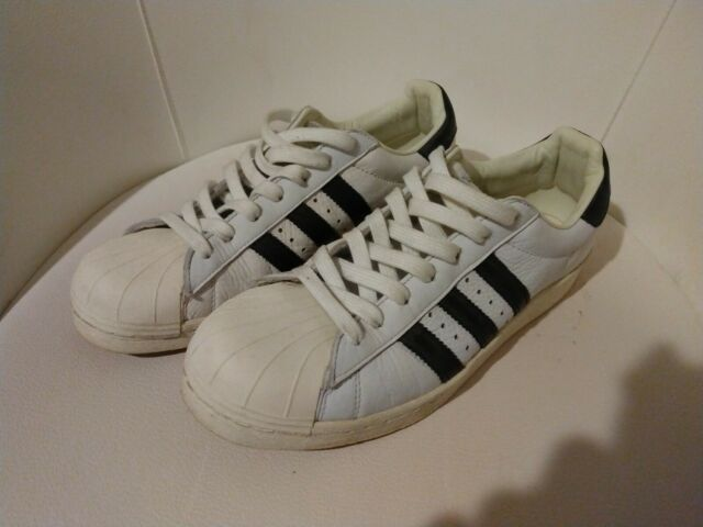 adidas Women's Running Shoes PYV 702001 Size 9 White Lace up SNEAKERS