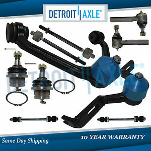 Excludes Sport Trac Brand New 10pc Front Suspension Kit Ford Explorer 4.6L