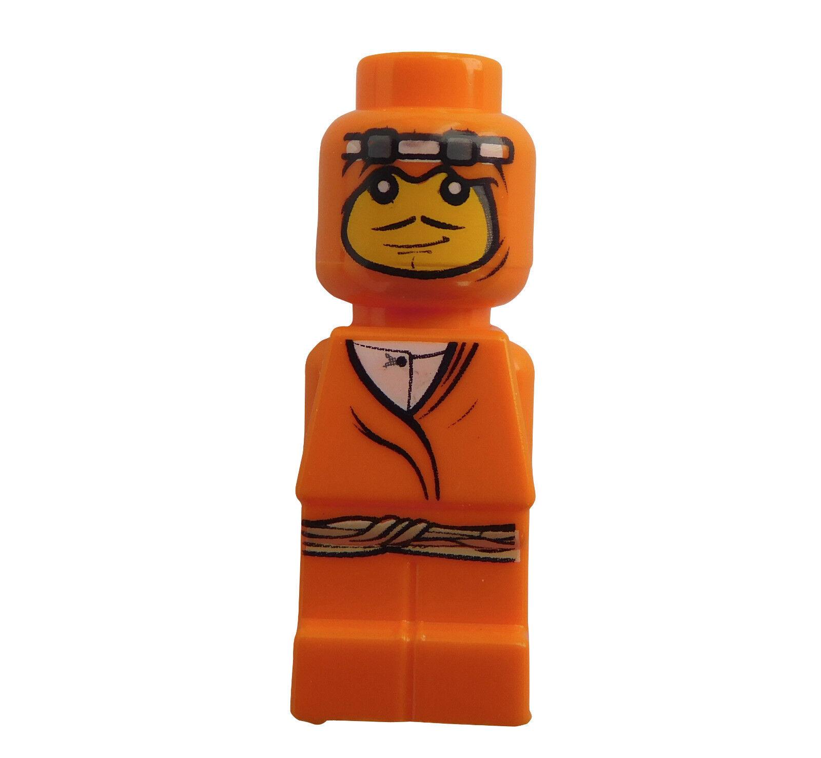 Lego 4 x Sarah Return Adventurer Orange Microfigure Basic Lot of 4 parts pieces