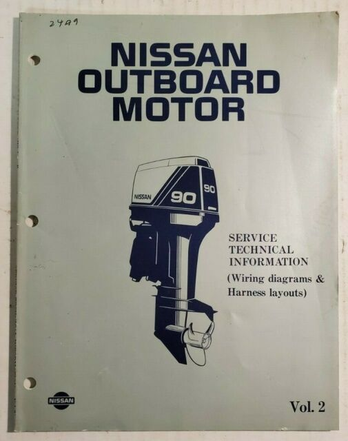 Nissan Outboard Service Technical Information Wiring