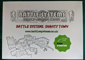 Battle Systems Shanty Town Set (brand new, unpunched, from kickstarter)