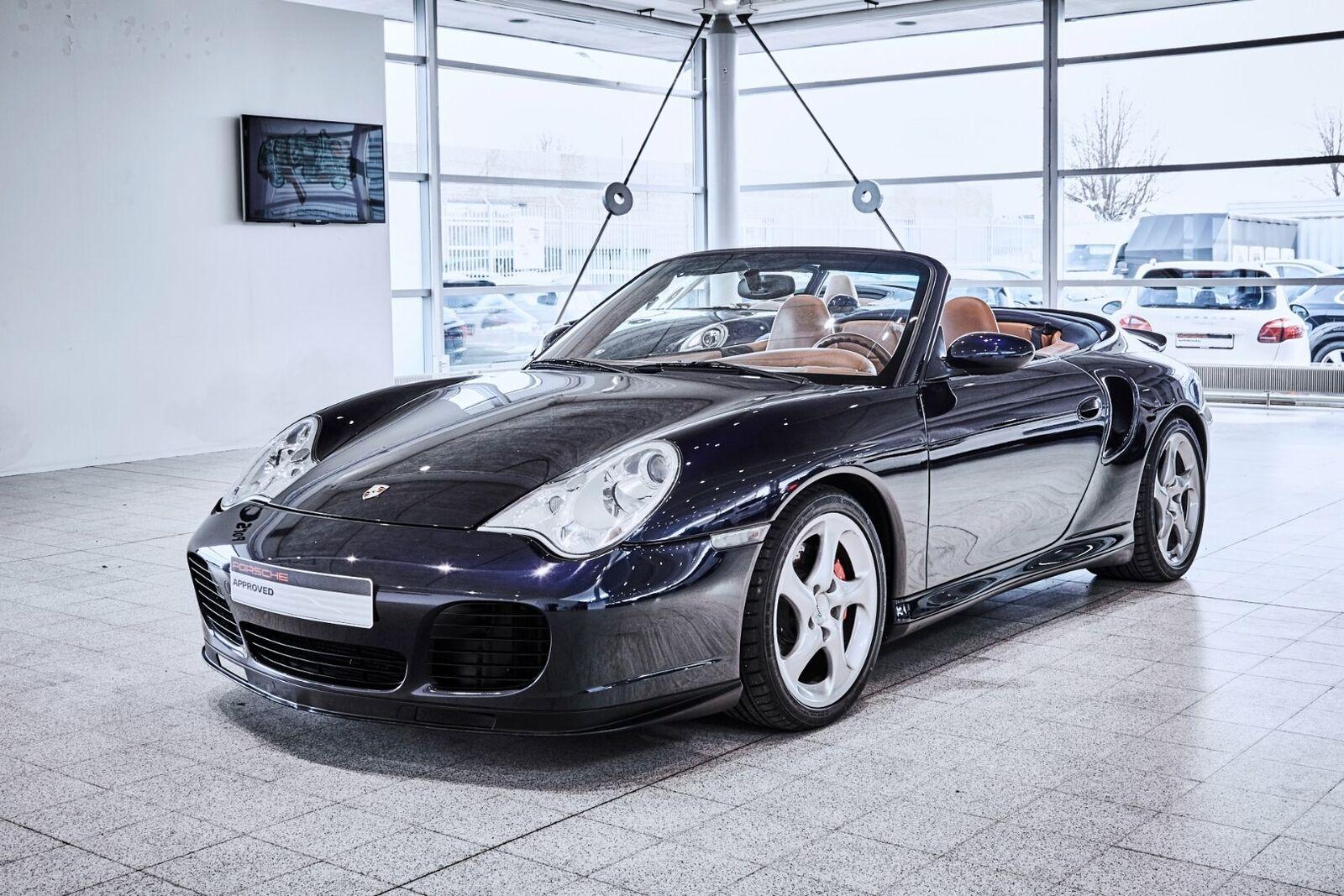Porsche 911 Turbo 3,6 Cabriolet Tiptr. 2d