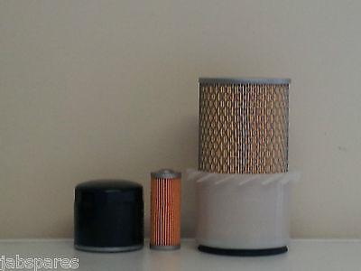 Oil Fuel Filters Hitachi EX12-2 Filter Service Kit Air