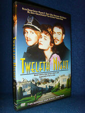 Twelfth Night (DVD, 2005) Mint Disc•No Scratches•US•Out-of-Print