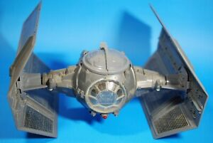 VINTAGE-Star-Wars-COMPLETE-Darth-Vader-TIE-FIGHTER-KENNER-WORKS