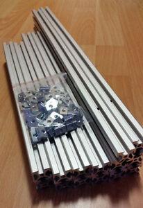 3D-Printer-Frame-Kit-100pcs-nuts-M5-MendelMax-1-5-Extrusion-T-Slot-Profile-4