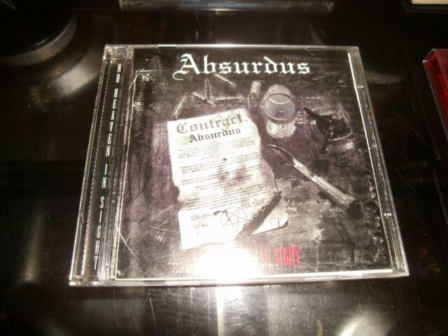 ABSURDUS - NO HEAVEN IN SIGHT       CD Album    (1998)