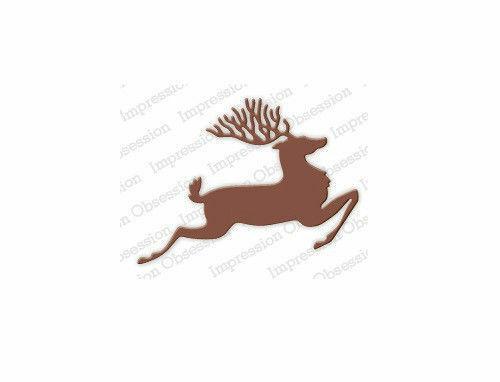adecuado para la mayoría de cortadoras de morir 228G Deer Die-Impression Obsession