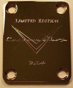 Cuello-Placa-Custom-Shop-estados-Unidos-Limited-Edition-Oro-de