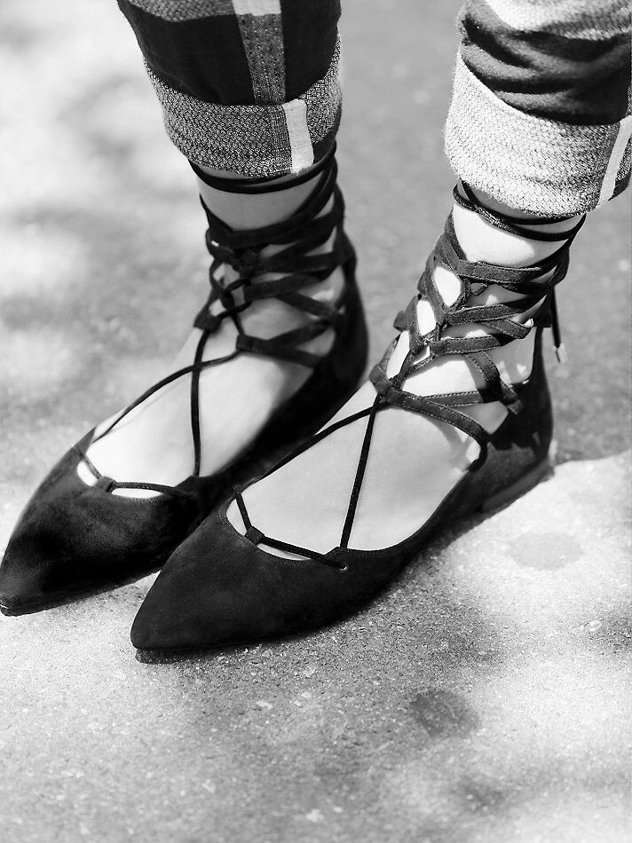 Free people x Jeffrey Campbell Campbell Campbell Shay Lace Up Suede Flat Taglia 8 New MSRP:  130 c85df5