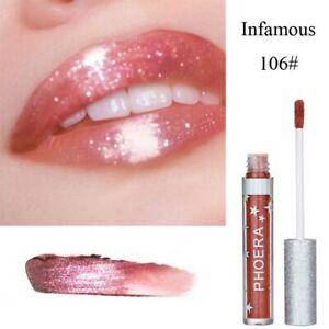 Liquid-Lipstick-Maquiagem-Shining-Lip-Tint-Lipgloss-Women-Cosmetics-Makeup-US