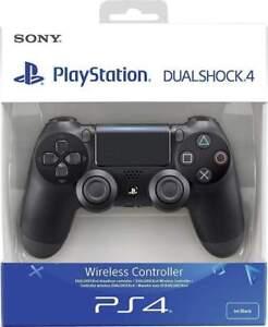 PS4 DualShock 4 Controller Black V2 Jet Black BRAND NEW SEALED OFFICIAL