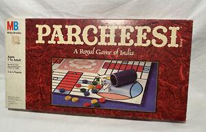 Parcheesi-Milton-Bradley-Board-Game-1989-Brand-New-Sealed-Box-Vintage-Box