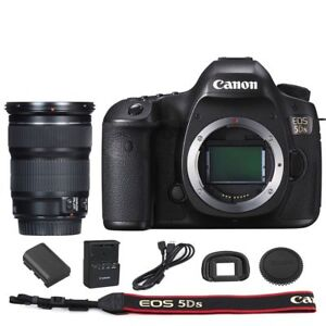 Canon EOS 5DS DSLR Camera Body with EF 24-105mm f/3.5-5.6 IS STM Lens