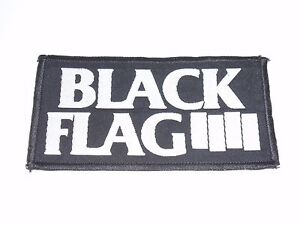 4dc426fb7 Image is loading BLACK-FLAG-WOVEN-PATCH