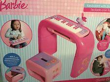 Barbie tastiera con supporto e sgabello