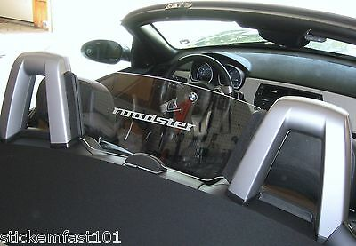 BMW Z3 Z4 Convertible Etched Glass Windscreen Decal
