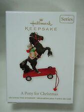 a Pony for Christmas #15 2012 Hallmark Ornament