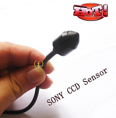 New Sony HD CCD bullet video audio color CCTV mini hidden spy pinhole camera