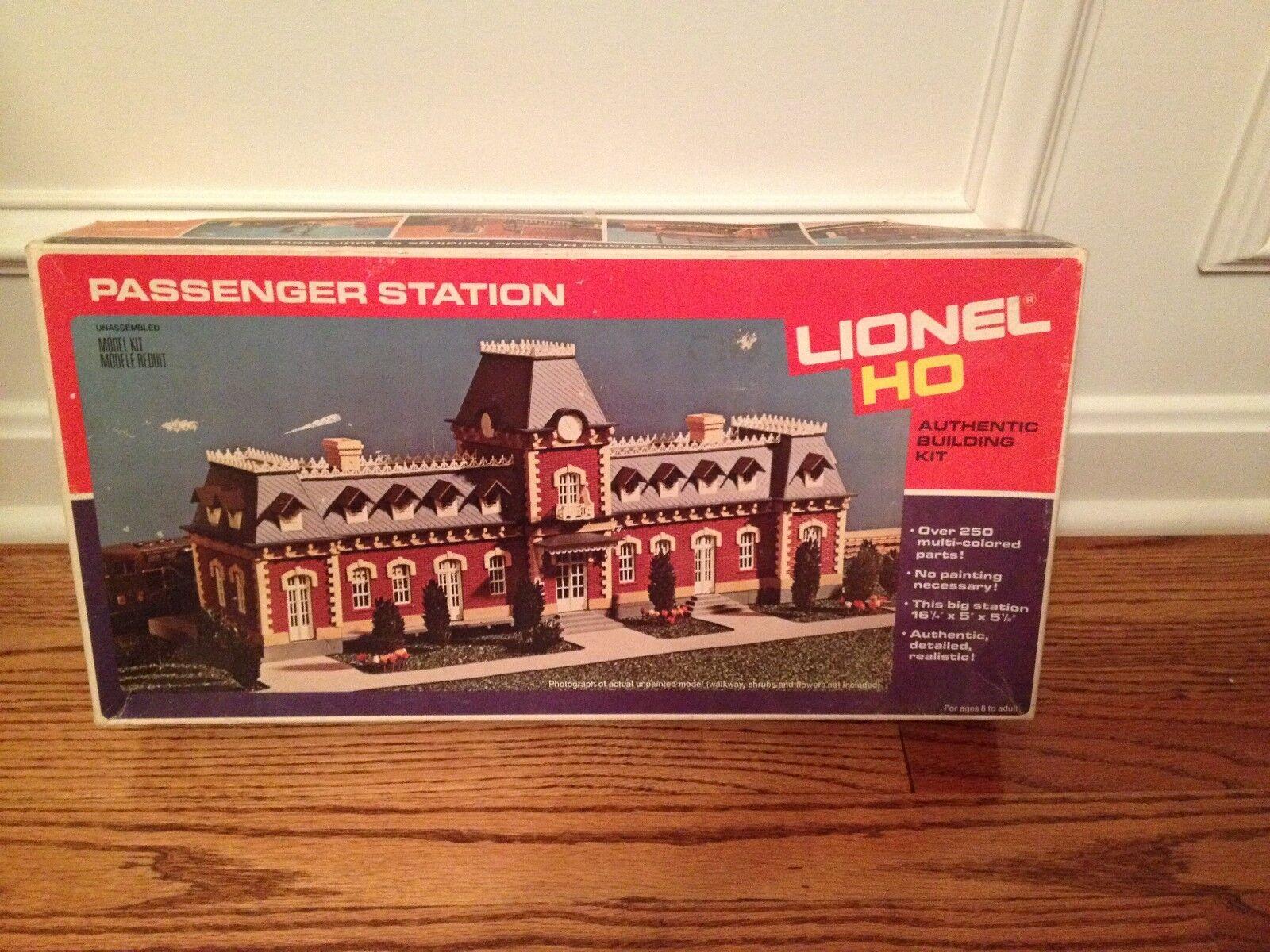 Lionel Passenger Station Building Kit HO Train Vintage Never Used
