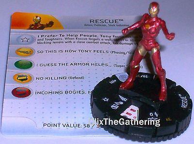 AURORA #209 The Invincible Iron Man Marvel HeroClix gravity feed