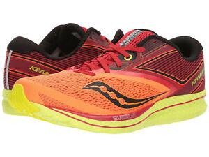 632beeae Details about Saucony Kinvara 9 Men's Running Shoe Orange/Red/Black, Size  11.5 M