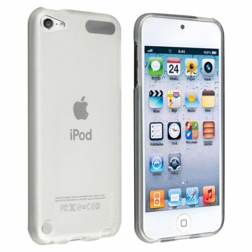 2 Pack TPU Rubber Skin Case For Apple iPod touch 5th//6th Generation Clear White