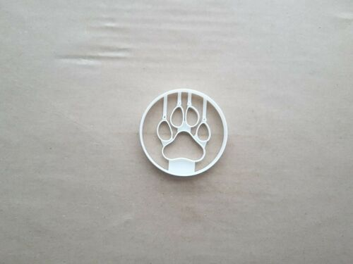 Cat Paw Print Feline Shape Cookie Cutter Dough Biscuit Pastry Fondant Sharp