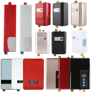 Objective Mini Instant Electric Water Heater For Indoor Shower Bathroom Kitchen 220v 3000w Water Heating High Quality Water Heater Parts Electric Water Heater Parts