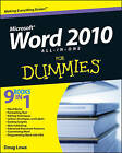 Word 2010 All-in-One For Dummies by Doug Lowe, Ryan C. Williams (Paperback, 2010)