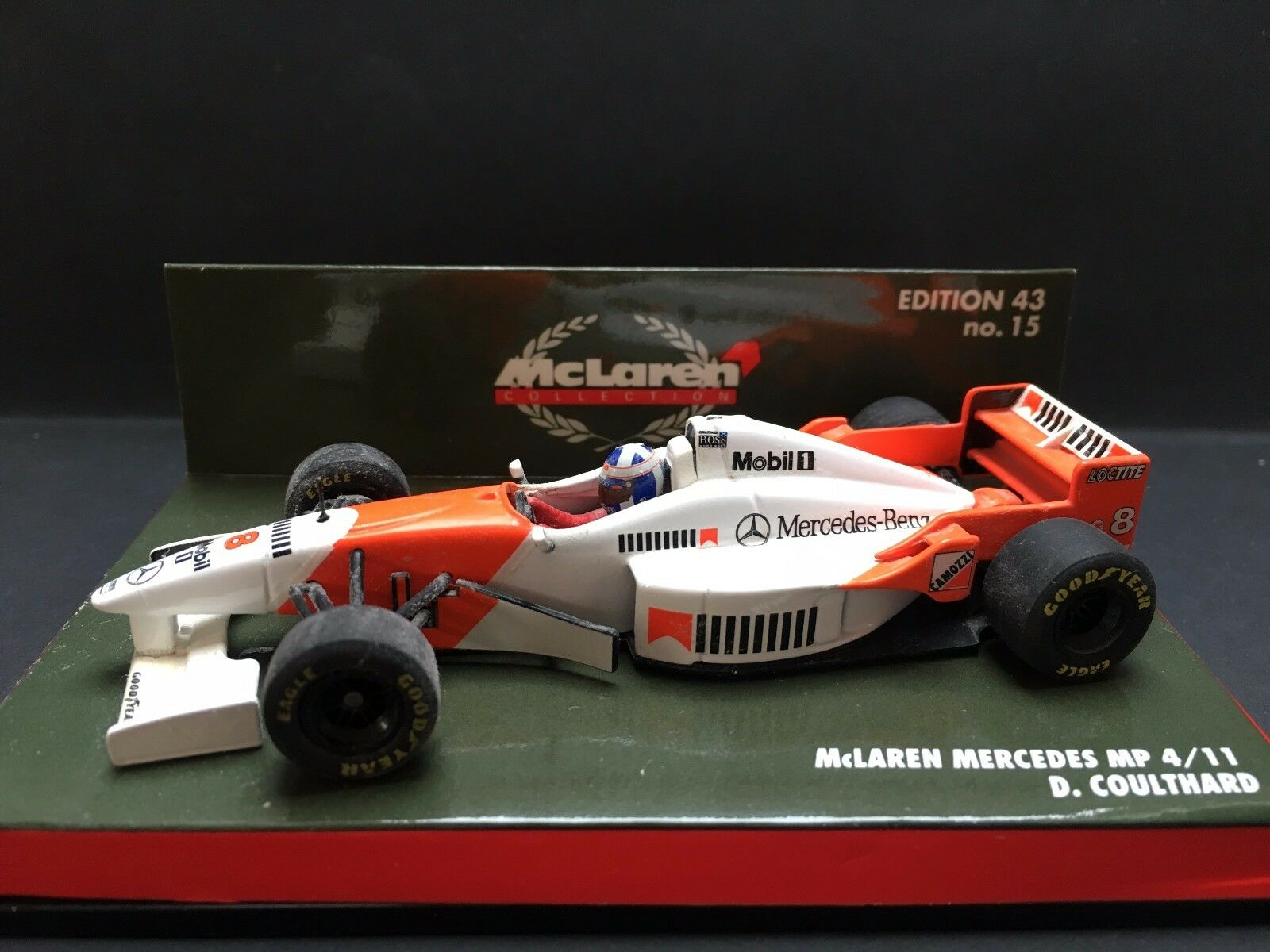 - david coulthard (mclaren - minichamps mp4   11 - teamedition - 1 43 - 1996 -