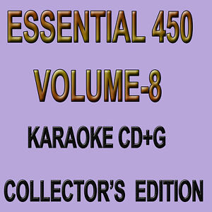 Karaoke CDG Essential 450 volume8 New Collection Disc in Sleeve 30 Disc set - Rancho Cucamonga, California, United States - Karaoke CDG Essential 450 volume8 New Collection Disc in Sleeve 30 Disc set - Rancho Cucamonga, California, United States