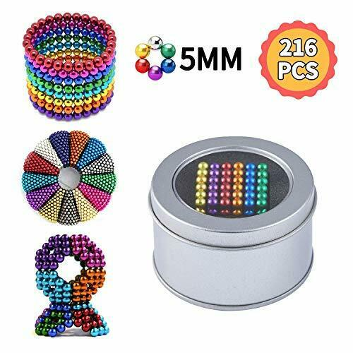 Paochocky 6 Colors Magic Building Ball Toys Sculpture Building Ball Toys Magic