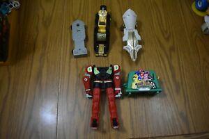 Power Rangers MMPR  Mega-zord action figure parts lot 90's-2000's