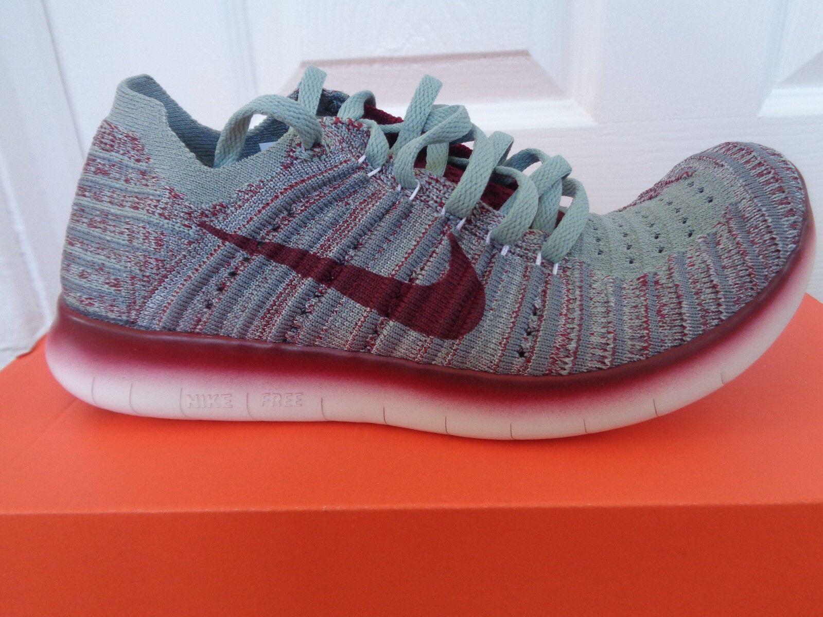 Nike Free Flyknit GYAKUSOU Wmns Zapatillas rn 844101 006 nos 5.5 Nuevo + Caja