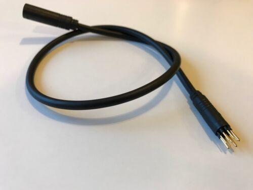 Higo Z910 e-bike motor connector wire 9 pin extension