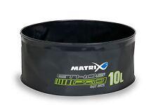 Fox Matrix Ethos Pro EVA Groundbait Bowl / Lid & Handle/10ltr / Luggage / GLU065