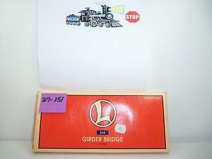 Lionel Girder Bridge #6-12730 NIB S27-151