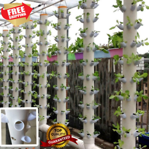 DIY Hydroponic Pots 50Pcs for Vertical Tower Growing System Soilless Device Farm