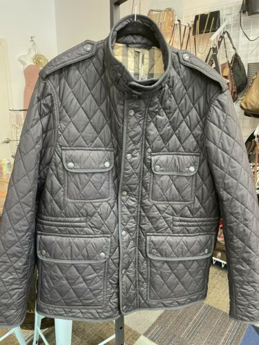 BURBERRY BRIT Russell Quilted Field Jacket Mens sz