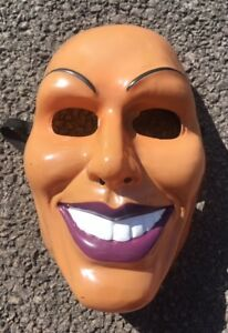 The Purge Mask Grin Halloween Film Movie Horror Male