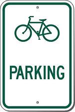 Highway Traffic Supply Bicycle Parking (Symbol) Sign 12X18 EGP