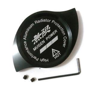 Nismo Letter Car Radiator Cap Protection Cover Decoration Black