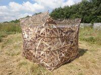 Covert 2 Shooting Hide Stubble Grass Wetland Camo Pop Up Hide Decoying Decoys